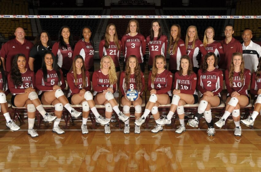NMSU Volleyball Picked 2nd in Preseason Poll; 3 Aggies on Preseason All-WAC Team