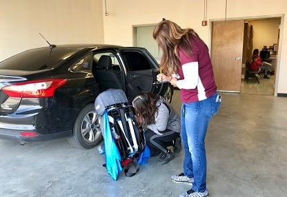 TxDOT, Walmart and EPPD Partner for Safety Seat Checks