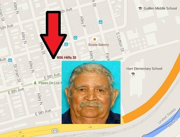 South El Paso man dies of natural causes, Police seek his family