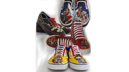 Bel Air High Students' Shoe Art Among top 50 Vying for $50K Prize
