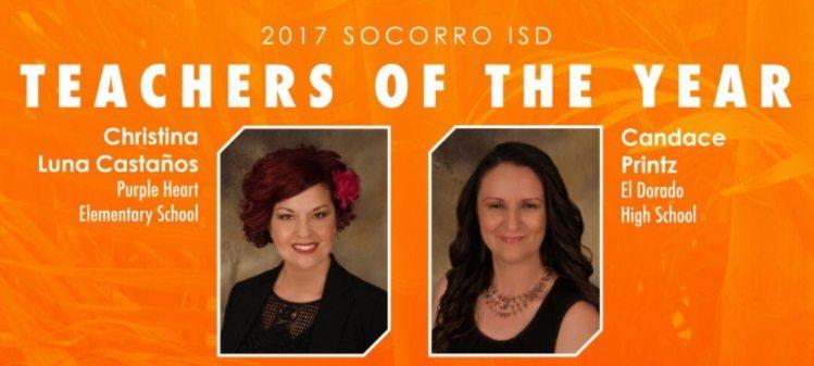 Socorro ISD Celebrates Teachers of the Year