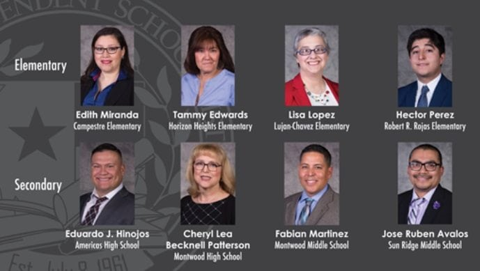 Socorro ISD Celebrates 2018 Teachers of the Year, Names Elite 8