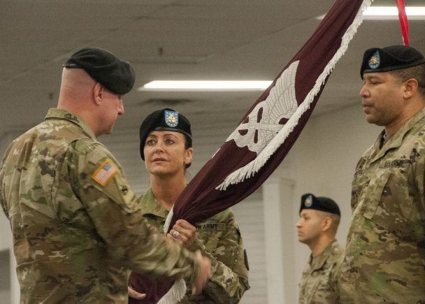 William Beaumont AMC welcomes new Command Sergeant Major