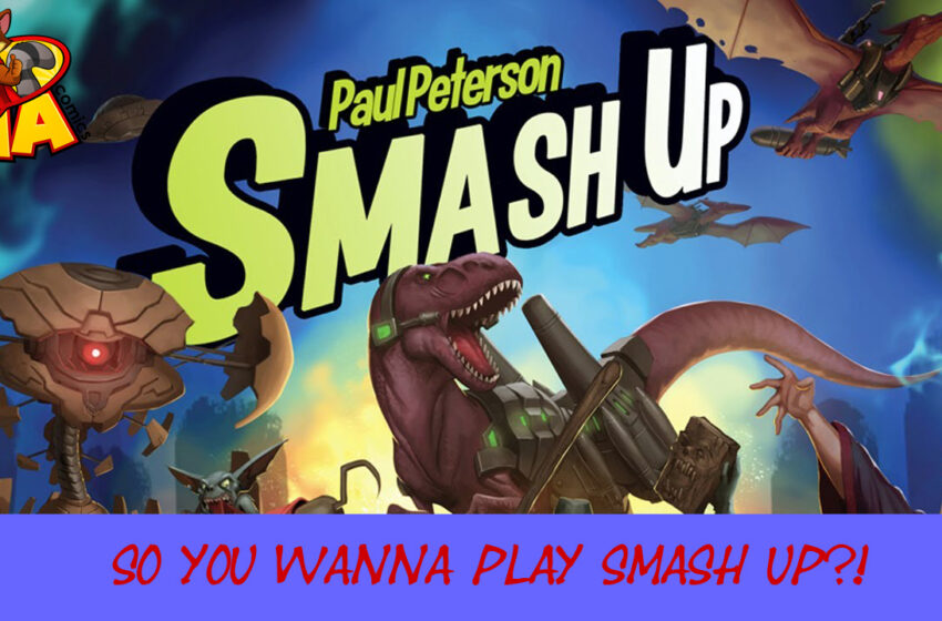 Smash Up by Alderac Entertainment Group