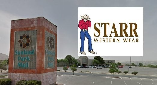 Starr Western Wear to Become Anchor Tenant at Sunland Park Mall