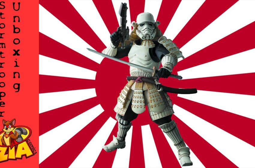 Ashigaru Samurai Stormtrooper unboxing
