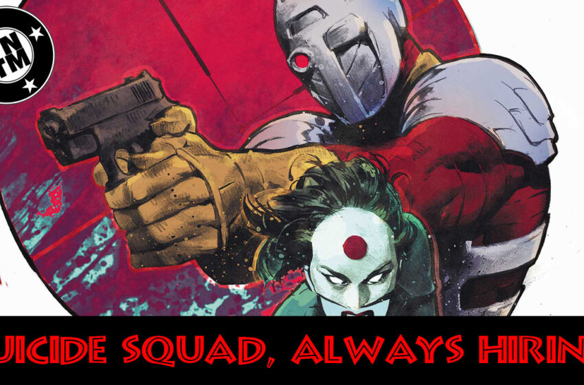 Suicide Squad Most Wanted Deadshot and Katana