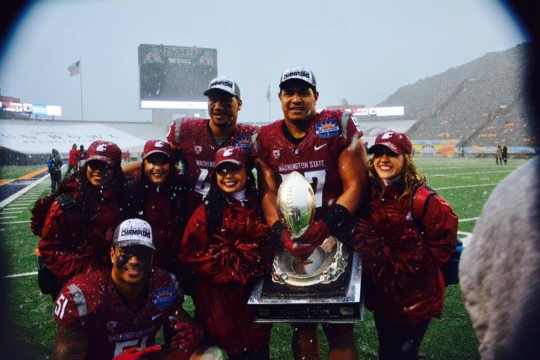 Cougars edge Hurricanes in snowy Hyundai Sun Bowl 20-14