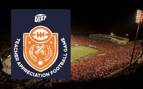 UTEP to Recognize Teachers on Saturday during Miner Football Finale