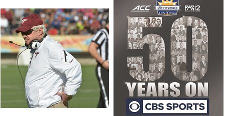 Virginia Tech's Frank Beamer, CBS Sports to be Honored as Sun Bowl Legends