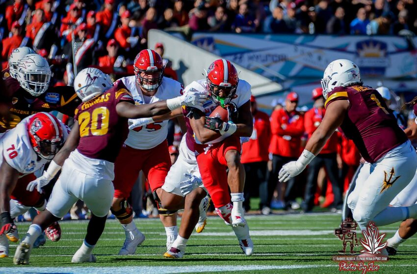 Wolfpack Run Over Sun Devils In Record-Setting Fashion To Win Sun Bowl 52-31