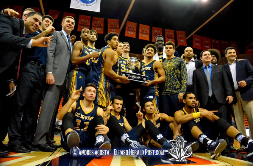 UC-Irvine takes WestStar Bank Don Haskins Sun Bowl Invitational over Norfolk 82-60