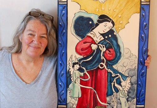 Taos artist creates ratablo in honor of Pope Francis