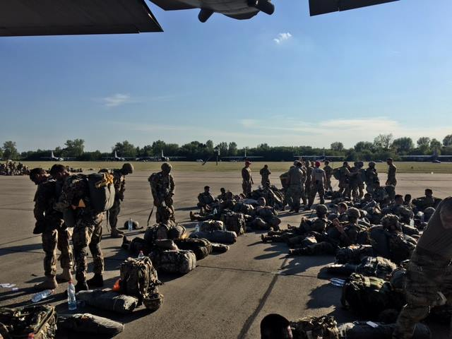Texas Guardsmen Mobilize in Support of Hurricane Harvey