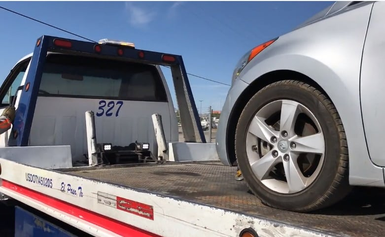 Video+Story: TxDoT, EPPD Remind Motorists of Free Stranded Motorist Towing Program