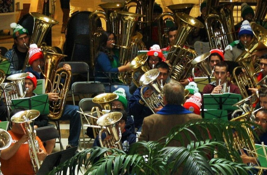 TubaChristmas Takes Over Downtown El Paso Saturday