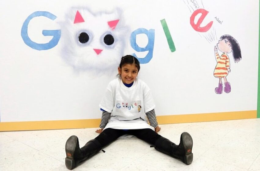 Tippin Elementary Student Representing Texas in Doodle 4 Google Art Competition