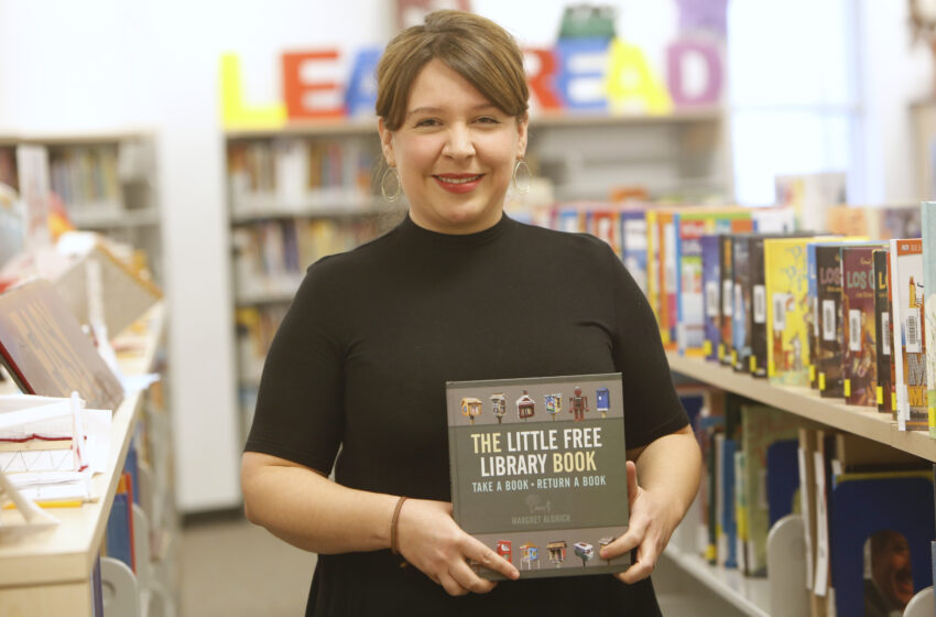 Video+Story: EPISD Librarian helped Establish 130 Free Little Libraries