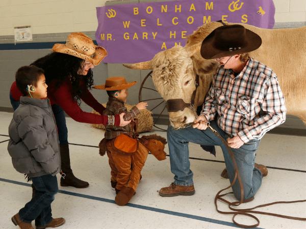 Bonham Elementary Takes Bullying by the Horns