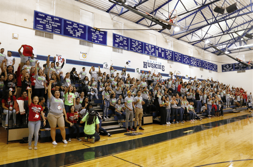 800+ Student Council members attend conference at Chapin