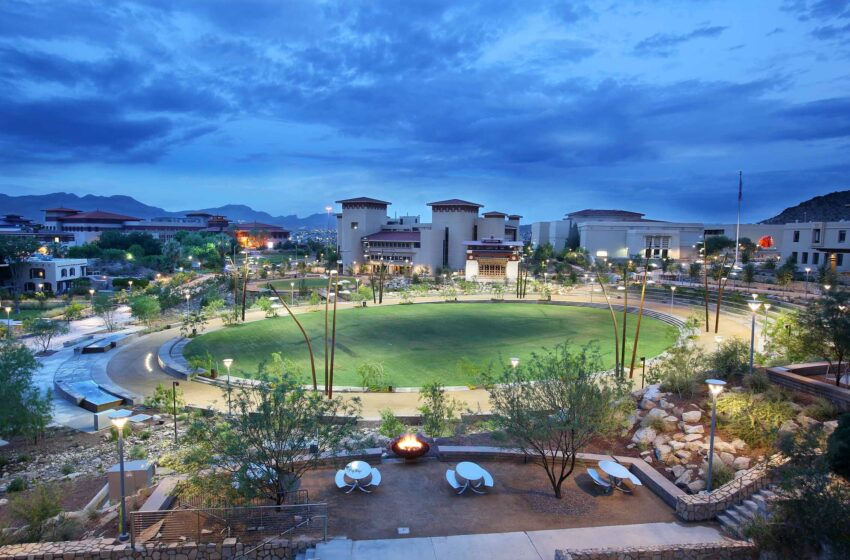 UTEP's Campus Transformation Earns Sustainability Honor