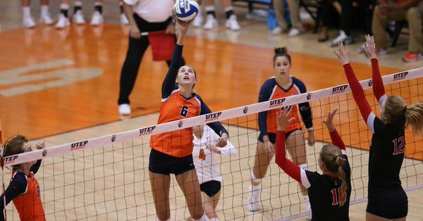 UTEP Volleyball Edged by Texas Tech in Five Set Thriller