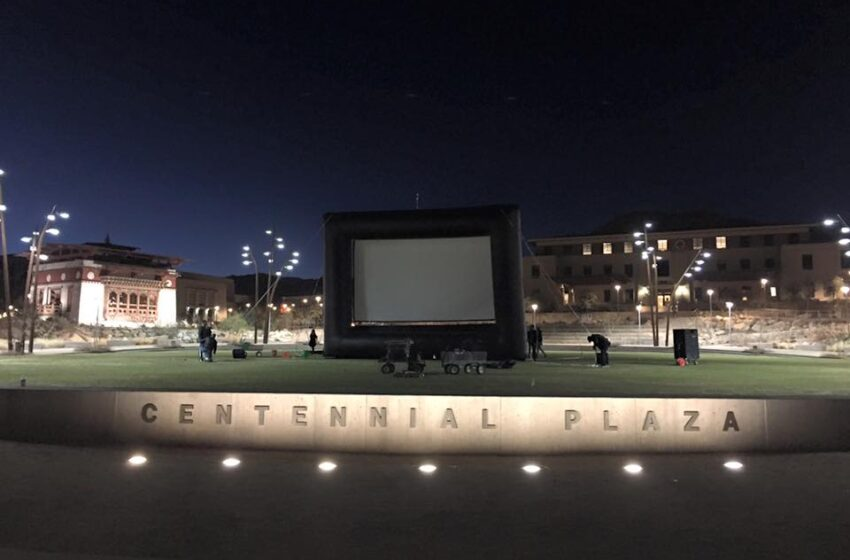 UTEP set to show 1st movie in Centennial Plaza Friday night