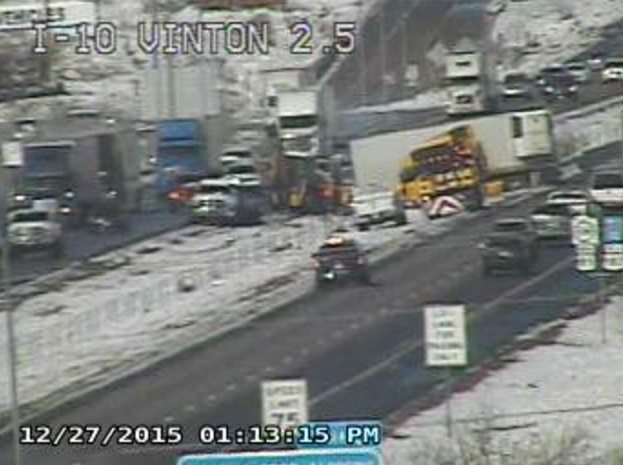 TxDoT warns of hazardous driving conditions in El Paso and 5 adjacent counties