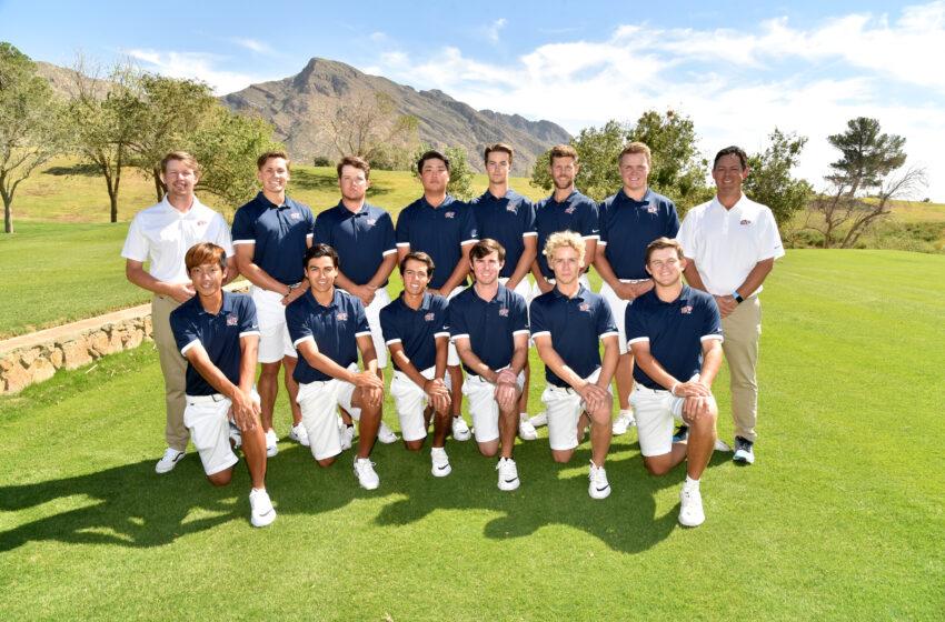 UTEP Men's Golf Tees Off Monday
