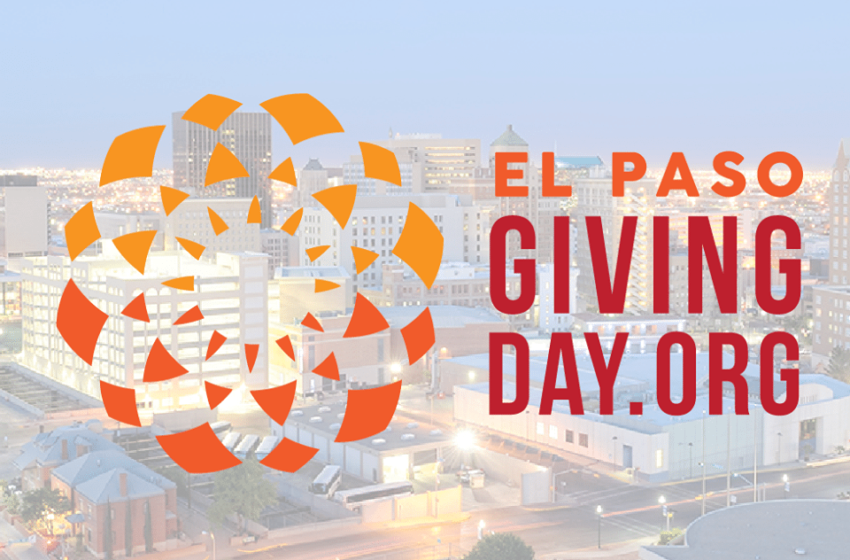 El Paso Giving Day set for Next Week; Residents can Schedule Gifts Now