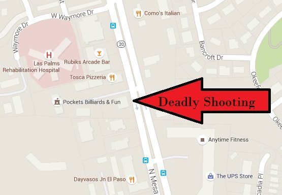 One man dead after West El Paso Sunday morning shooting