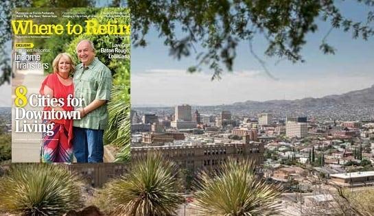 El Paso Featured in Where to Retire Magazine