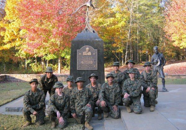 Coronado Marine Corps JROTC competes at Nationals