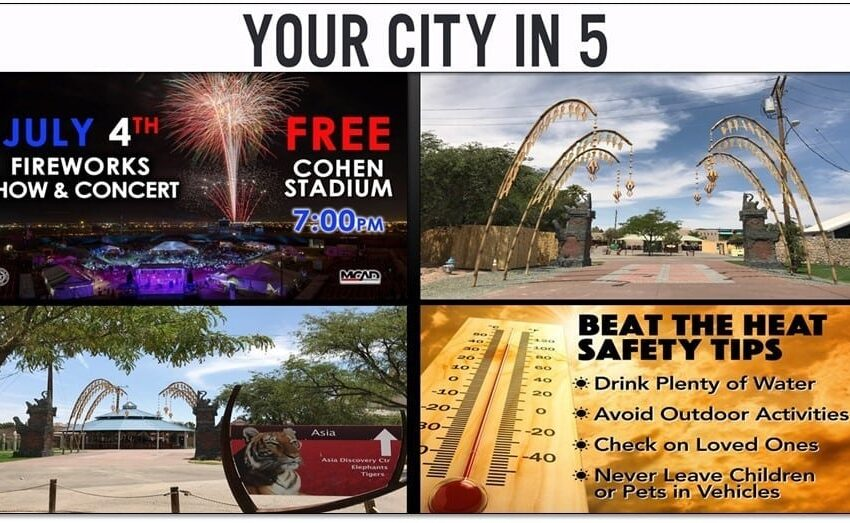 Video: Your City in 5 for Week Ending June 29