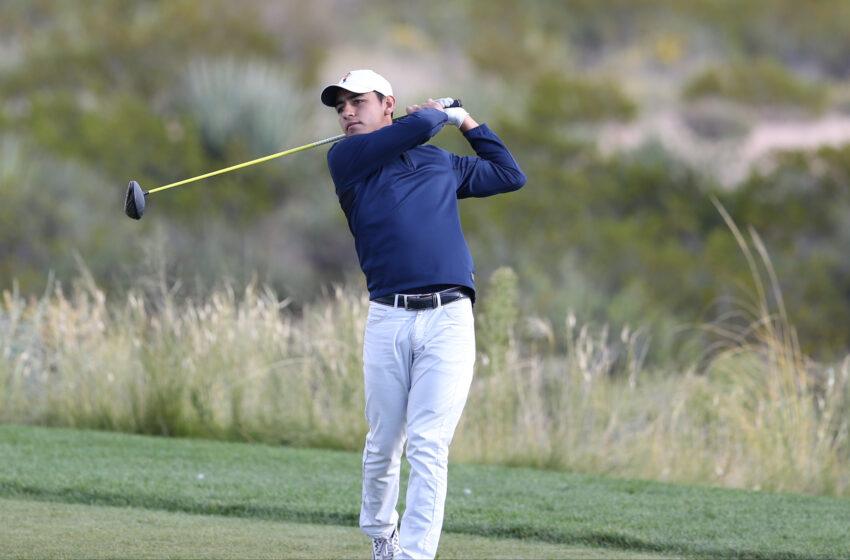 UTEP Golf's Aaron Terrazas Named C-USA co-Golfer of the Week