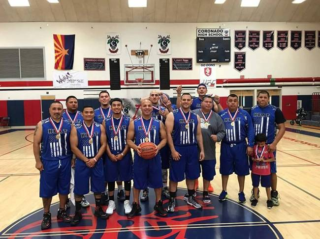 El Paso Heat takes Gold in Arizona Police and Fire Games