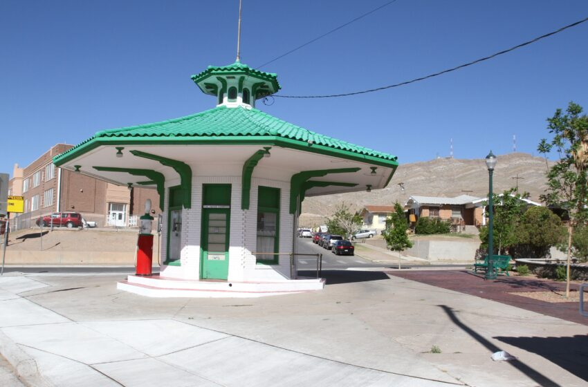 Davenport Family donates iconic Gas Station to El Paso County Historical Society