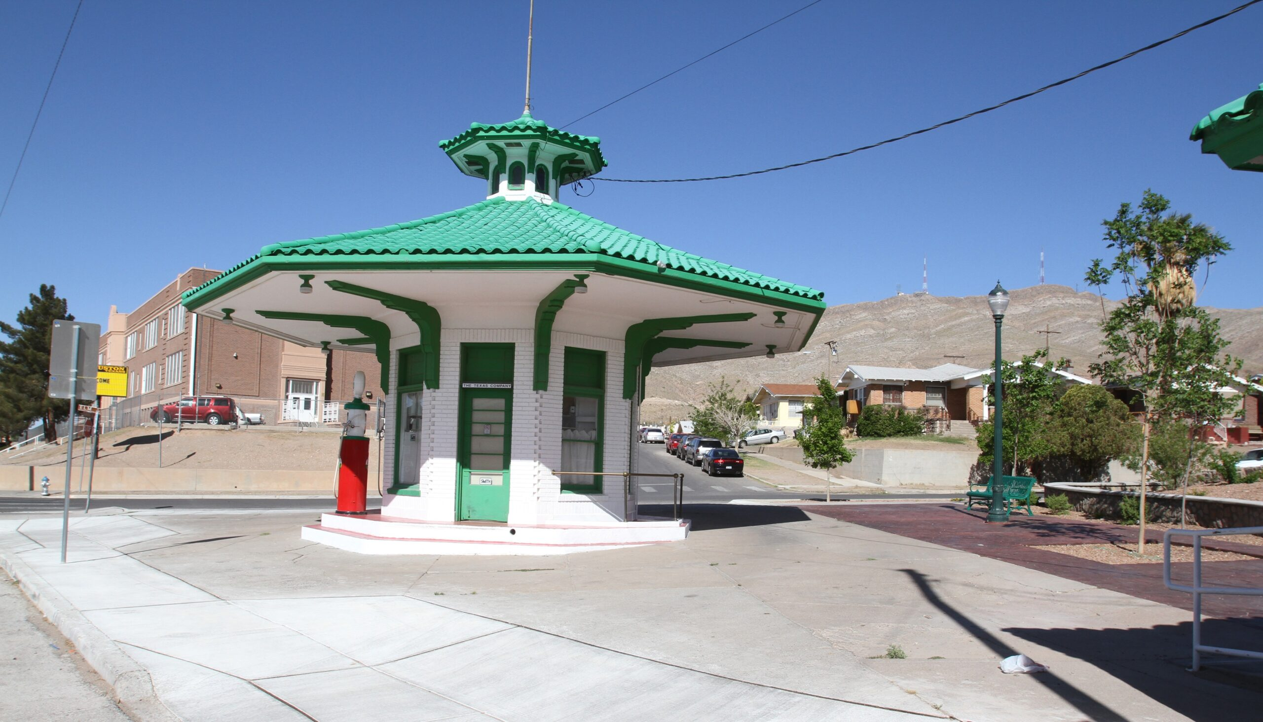 Former Texaco Service Station located at 2871 Grant Avenue |  Photo courtesy El Paso County Historical Society