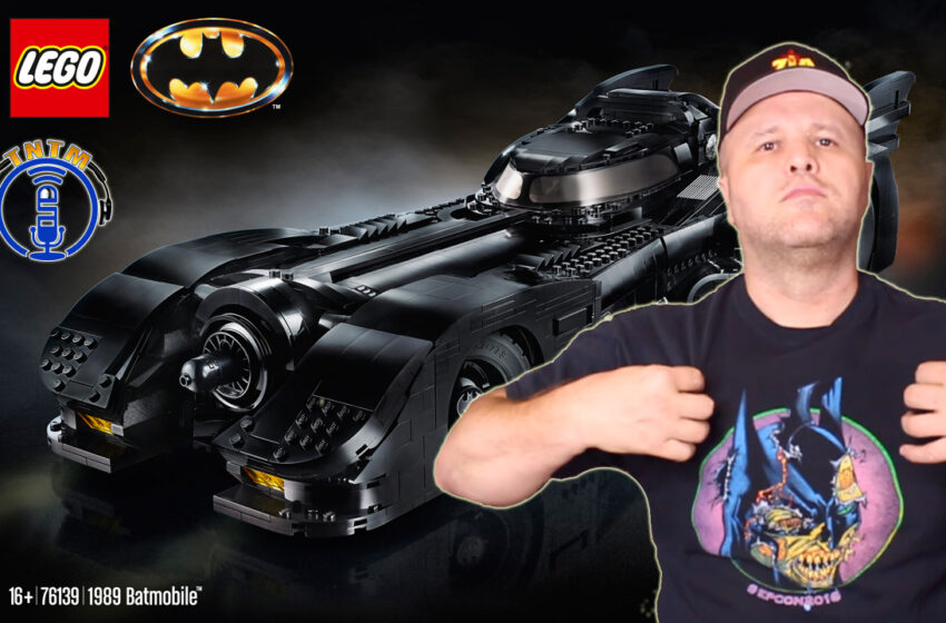 VLog: Lego 76139 – 1989 Batmobile (Michael Keaton) Unbox & Speed Build