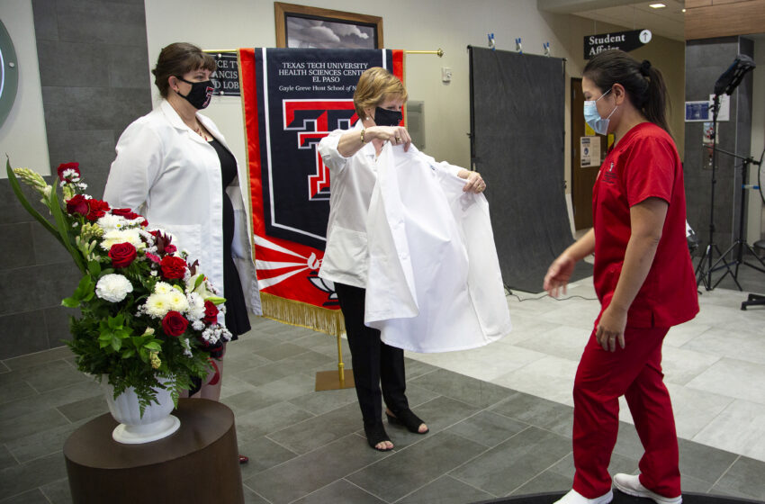 Hunt School of Nursing Class of 2021 presented with White Coats