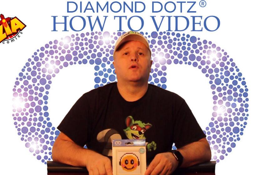 VLog: TNTM How to Instructions for Diamond Dotz art kit