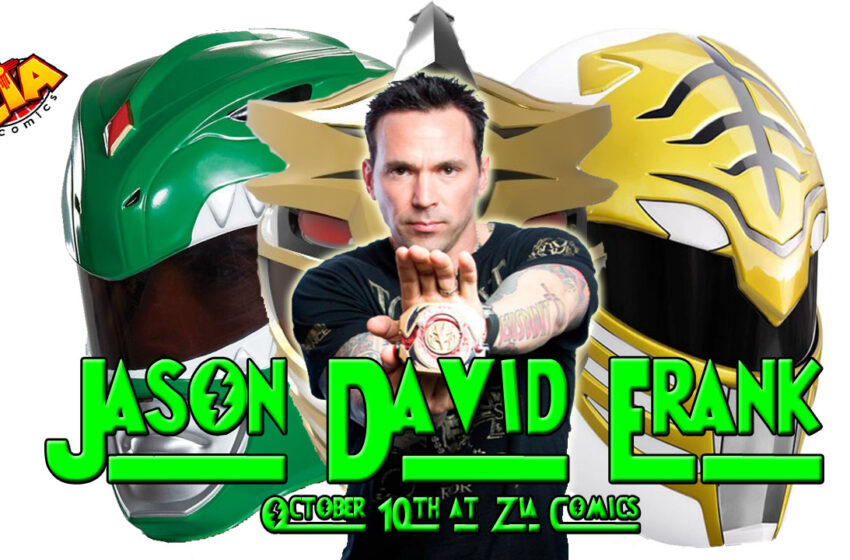 VLog: Jason David Frank headed to Las Cruces for store signing event at Zia Comics