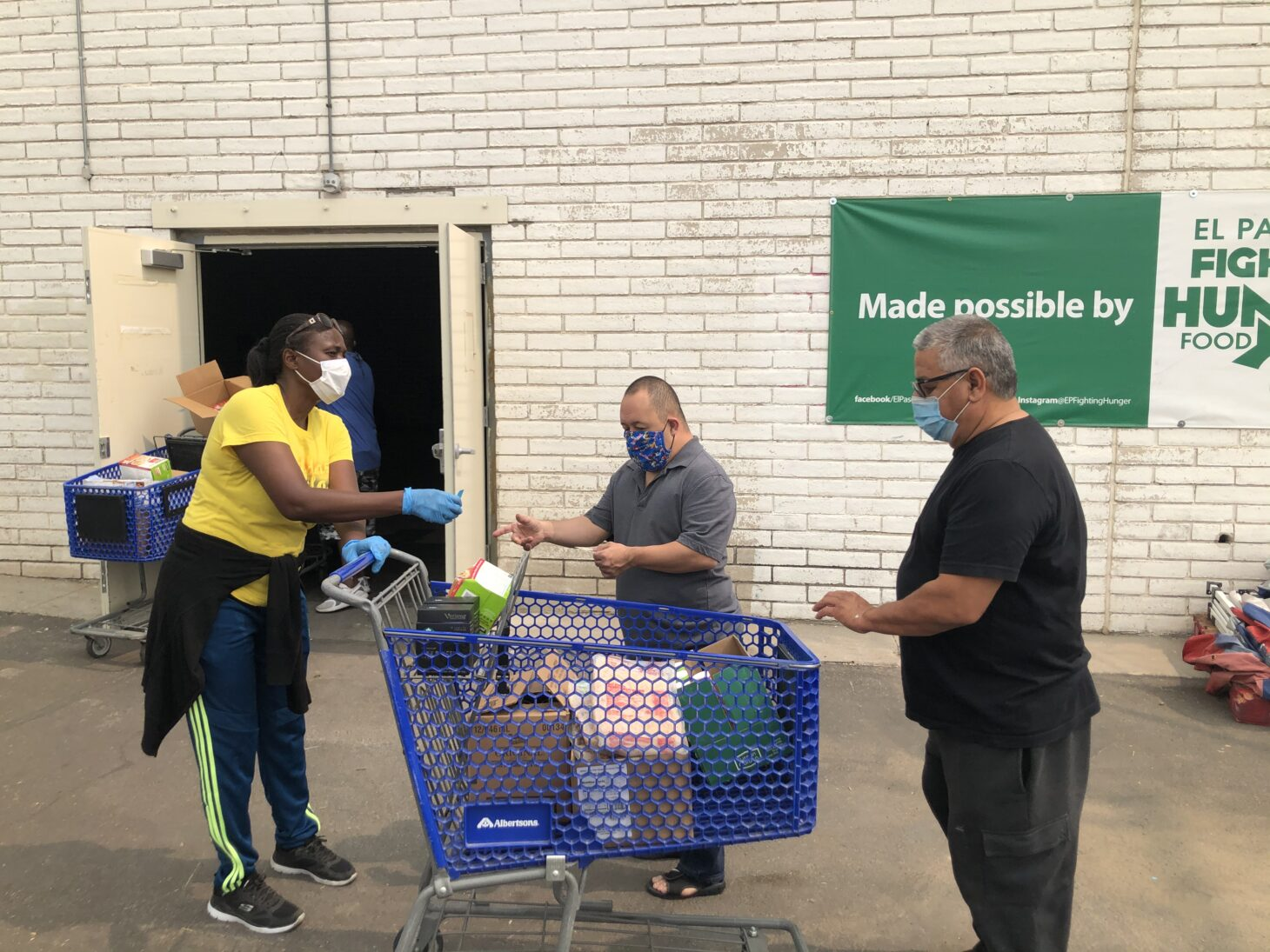 """We are grateful for Albertsons support and commitment to the community,"" said Warren E. Goodell, Executive Director of Kelly Center for Hunger Relief. 