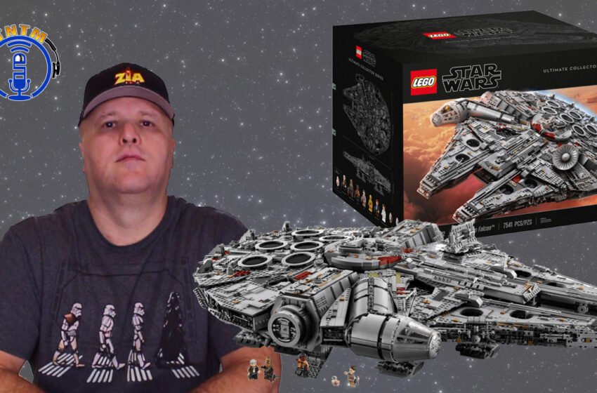 VLog: TNTM's Lego Millennium Falcon Unbox and Speed Build