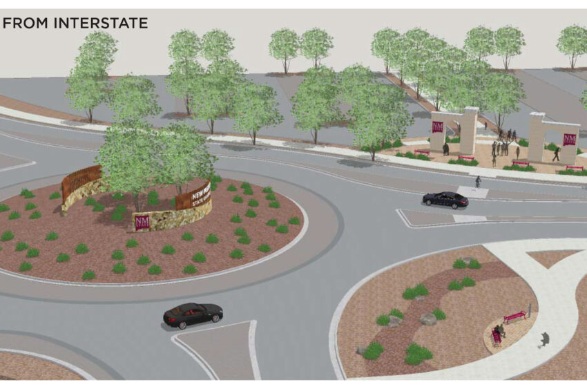 'Gateway to NMSU' project moves forward with combined design