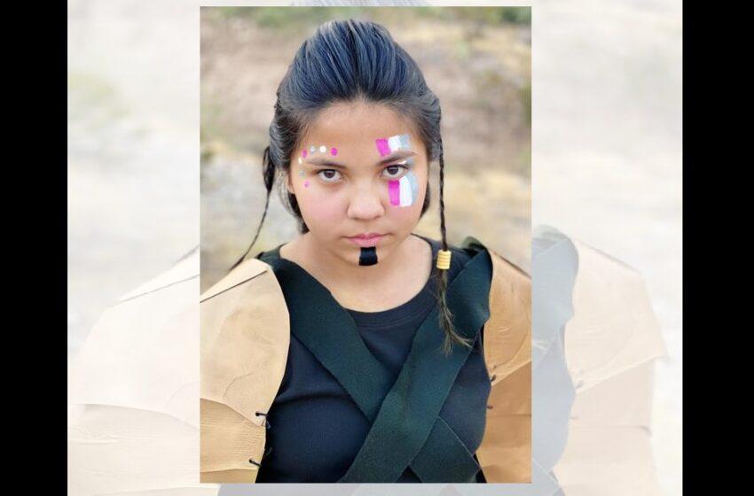 Young Women's Academy debuts new Warrior mascot: Cynthia