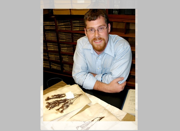 New Mexico State University's Herbarium curator and botanist Zachary Rogers was among 99 scientists from 56 institutions across 19 countries to analyze and document plant species collected in New Guinea since the 1750s. | Photo courtesy NMSU
