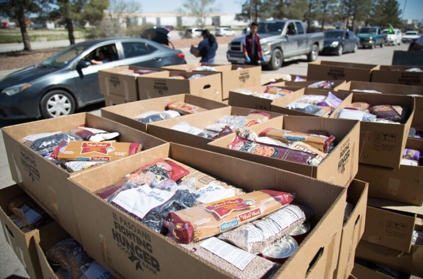 El Pasoans Fighting Hunger Food Bank receives International Paper Foundation Grant
