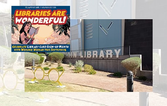 City of El Paso Public Library celebrates National Library Card Sign-Up Month