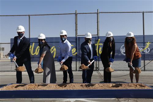 EPISD breaks ground on new Coach Wally Hartley PK-8 School